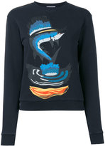 J.W.Anderson shark print sweatshirt - women - Cotton - XS