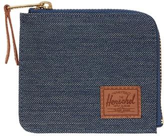 Herschel Jack RFID (Black) Wallet Handbags