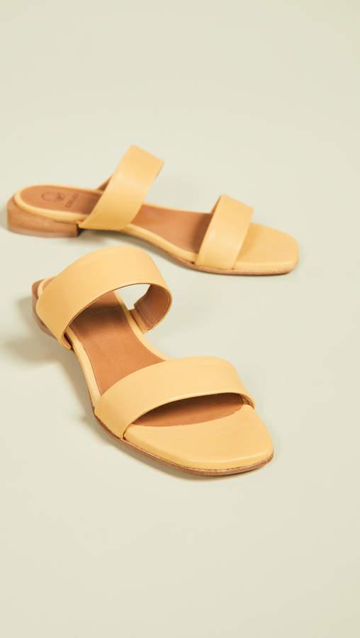 Coclico Carano Double Strap Slide Sandals
