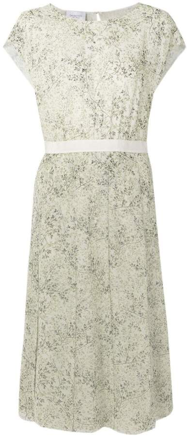 Giambattista Valli floral flared midi dress