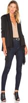 Bobi Light Weight Jersey Long Sleeve Cardigan