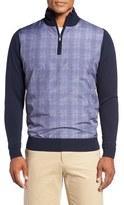 Bobby Jones Men's Hybrid Merino Wool Quarter Zip Sweater