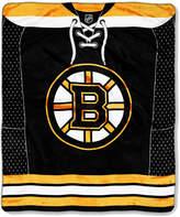 Northwest Company Boston Bruins Raschel Stamp Blanket