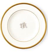 Pickard White Script Monogram Bread & Butter Plate