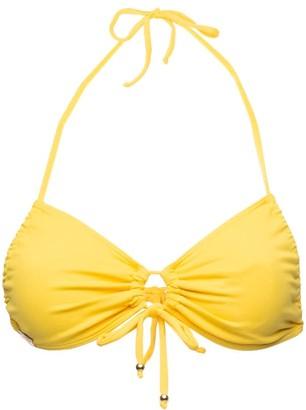 Passion Fruit Beachwear Acai Bikini Top - Yellow