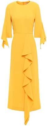 GOEN.J Ruffled Crepe Midi Dress
