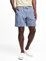 """Old Navy Drawstring Dobby Shorts for Men (7"""")"""