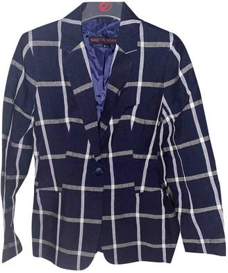 Martin Grant Blue Linen Jackets