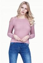 Select Fashion Fashion Womens Pink Multi Strap Jumper - size 6