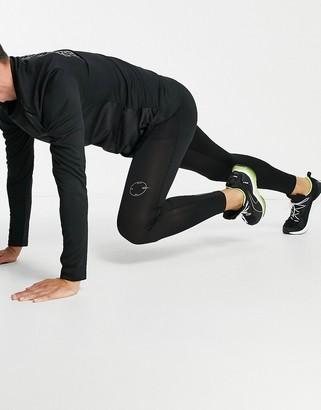 Topman GYM sports leggings in black