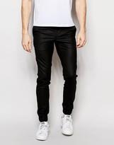 Jack & Jones Premium Trousers With Stretch And Cuffed Hem In Slim Fit