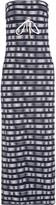 Heidi Klein Strapless striped stretch-jersey maxi dress