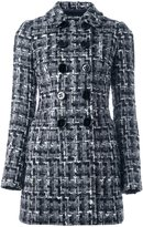 Dolce & Gabbana bouclé midi coat