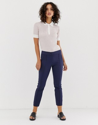 Sportmax Code classic kick flare trousers