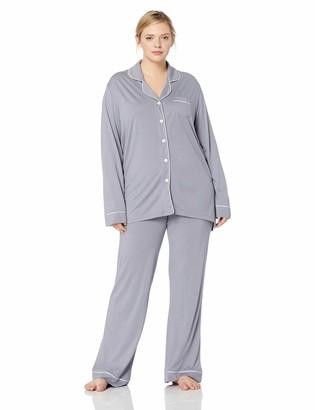 Cosabella Women's Size Bella Plus Long Sleeve & Pants Pajama Set