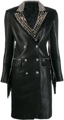 Philipp Plein Cowboy studded coat