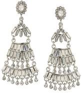 ABS by Allen Schwartz Baguette Chandelier Earrings