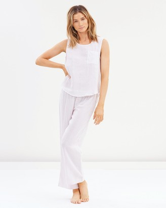 Papinelle Basic Stripe Cami & Pants Set