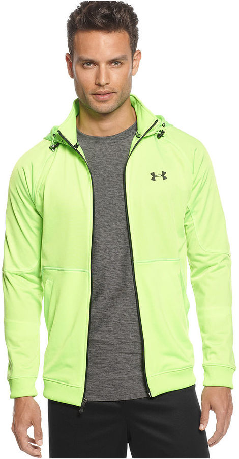 Under Armour Jacket, Stamina Hooded Track Jacket