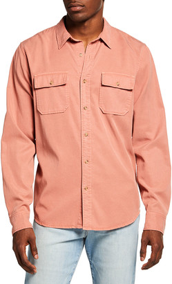Frame Men's Double-Pocket Sport Shirt
