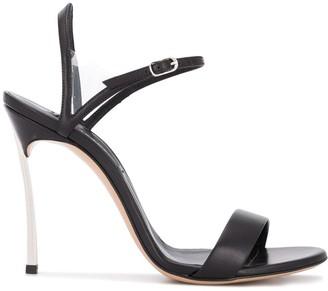 Casadei Open Toe 110mm Heeled Sandals