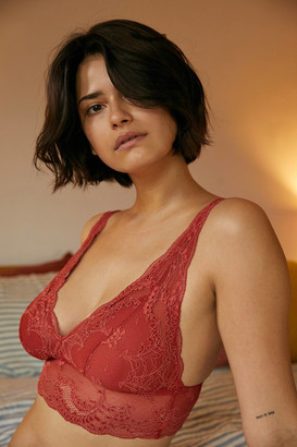 Cosabella X Out From Under Plunging Bralette