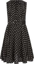 City Chic Vintage Spot Dress