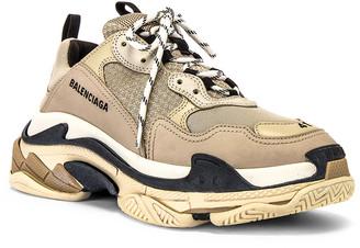Balenciaga Triple S Sneaker in Beige | FWRD