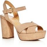 MICHAEL Michael Kors Divia Crisscross High Heel Platform Sandals