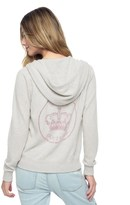 Juicy Couture Swarovski Cashmere Track Jacket