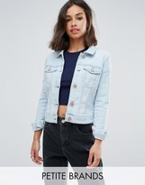 Noisy May Petite Denim Jacket