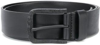 Diesel Logo-Buckle Classic Belt