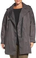 Kristen Blake Plus Size Women's 'Tech Rain' Water Repellent Trench Coat