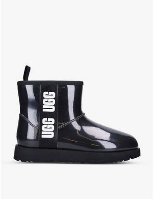 UGG Classic Clear Mini PVC and faux-shearling boots