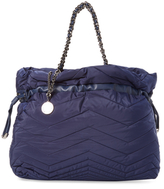 Stuart Weitzman Pucker Large Quilted Tote