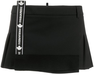 DSQUARED2 Pleated Mini-Skirt