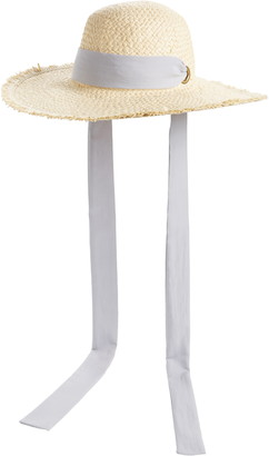 BP Tie Straw Hat