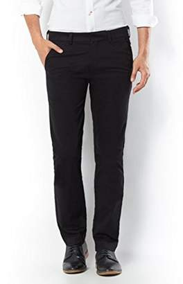 Dockers Best Pressed Insignia Extra Slim - Stretch Sateen Trouser, (1784 Black 0002), W34/L34 (Size 34)