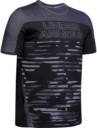 Under Armour Boys' UA Seamless T-Shirt