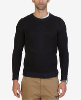 Nautica Men's Iconic Knit Anchor Sweater