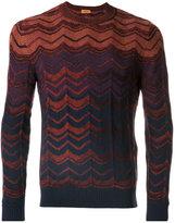 Missoni zigzag striped jumper - men - Wool - 46