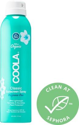 Coola Classic Body Organic Sunscreen Spray SPF 50 Fragrance-Free
