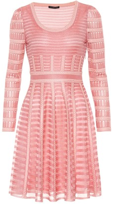 Alexander McQueen Sheer knit dress