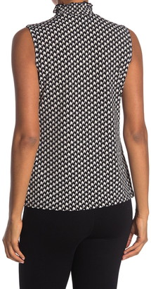 Love by Design Courtney Mock Neck Sleeveless Top