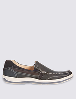 M&S Collection Leather Slip-on Shoes