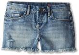 Blank NYC Kids - Medium Denim Cut Off Shorts in Flavor Savor Girl's Shorts