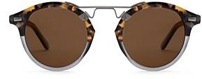 Krewe Unisex St. Louis Polarized Round Sunglasses, 46mm