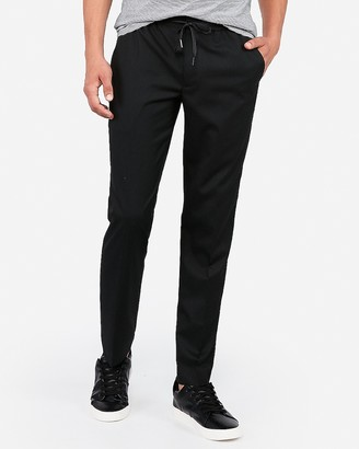 Express Extra Slim Drawstring Wrinkle-Resistant Performance Dress Pant