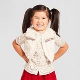 Genuine Kids Toddler Girls' Fur Trim Vest Genuine Kidsfrom OshKosh® - White