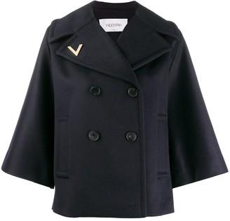 Valentino Flared Sleeves Coat